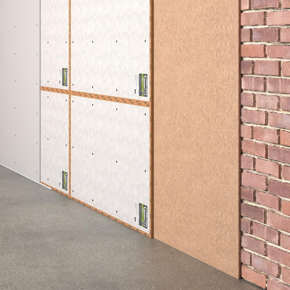 Подготовка основания (стены) для устройства бескаркасной звукоизоляции